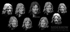 Aragorn as Strider portrait by TrevorGrove