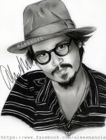 Johnny Depp 2013 by aleexart