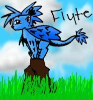New Character - Flyte by Kitfox247