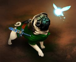 LEGEND OF PUG by HeatherBomb