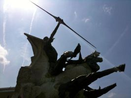 Don Quixote Statue IV by 44NATHAN