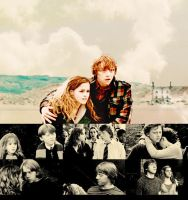 Hermione and Ron. by TheTimeeOfOurLives