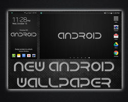 Metallic Android Wallpaper by Geoffery10