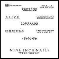 Nine Inch Nails text brushes by ghostgoodthing