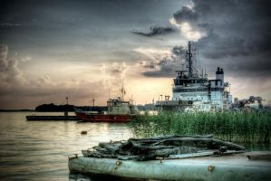 Sunset HDR by MarcoK74