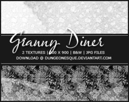 Granny Diner Textures by dungeonesque