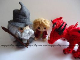 The Hobbit Amigurumi Set by AnyaZoe