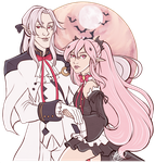 Ferid And Krul by naomi-makes-art73