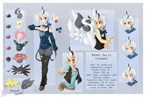 Character Sheet: Moony by VioletKy