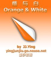 Orange and White by JJ-Ying
