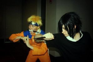 Naruto- Rivals Even in Battle by XxNaomi-LukarixX