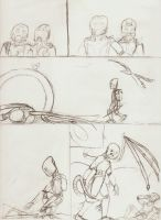 comic page pencil lines by Shadow-Lockheed