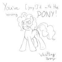 She's not kidding. Pinkie Sketch! by Whibbleton