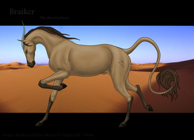 The Desert Prince by MitheaLaval