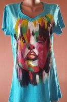 Handpainted t-shirt by keopsa