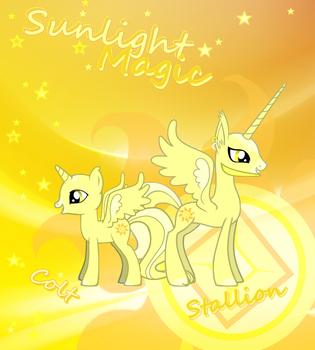 Sunlight Magic - 2nd poster by suxgio