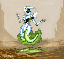 Gravibot andrevanstone2009 by Robot-drawing-club