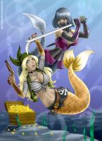 Duel under the sea by StormFedeR
