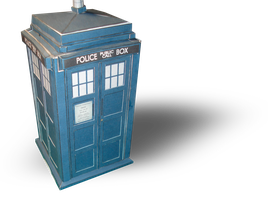 TARDIS Papercraft Templates by RocketmanTan