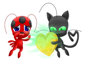 Tikki Plagg transparent by MikariStar