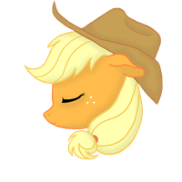 Dreaming Applejack by Anegue