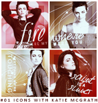 #01 Icons with Katie McGrath. by NoxNerka
