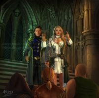 commission: Jonah and Desari by 4steex