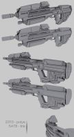 Halo Reach Assault Rifle Model by ImBrokeRU