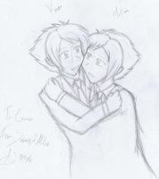 For Crimson: Ouran Twins by SorceressofMalice