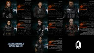 ME: HARBINGER - Character Biography by GothicGamerXIV