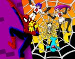 Spiderman Saves Pikachu by streetgals9000