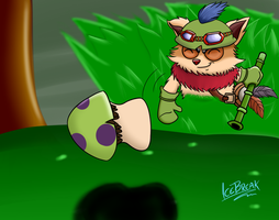 League of Legends - Teemo by IceBreak23