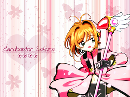 CCSakura Wall: 800x600 - Pink by bystrawbrry