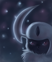 Absol by CrystalCeo
