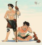 Sunburn Mako and Bolin by lord-phillock