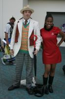 Uhura and Seven by Lorthide