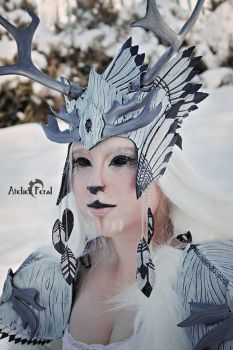 Winter spirit Faun by Feral-Workshop