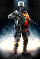 Battlefield3 style CSS fan art by shorty91