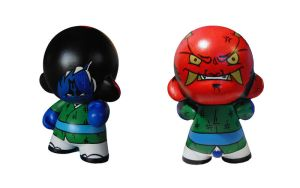 Munny The Inner Oni by kamineko831