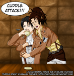 LeviHan - OTP Challenge - Cuddling Somewhere by The-Phisch