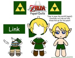Link Paper Doll by Malindachan