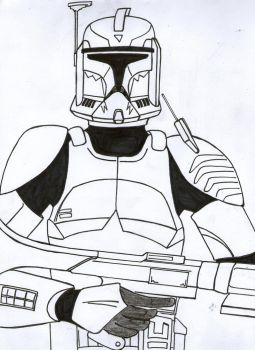 Commander Wolffe Phase I / Teaser Unfinished by Funtimes