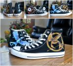 Hunger Games Trilogy Shoes by LacernellaRubra