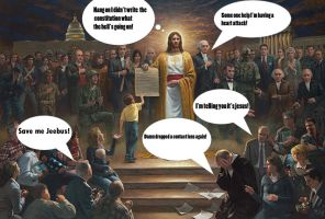 Jesus gets owned by Party9999999