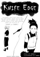 Naruto- Knife Edge: Cover by SamRH
