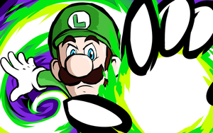 Luigi | Fireball by ishmam