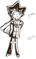 yami with coat cape by rinweb