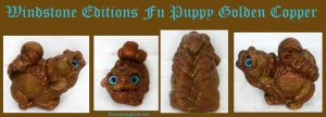 Windstone Editions Fu Puppy Lucky Dog by Eviecats