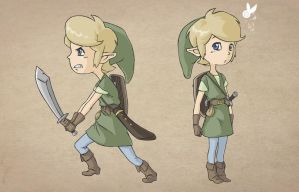 Link Cartoon by DesignJerico