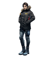 Resident Evil Revelations Jill -Winter Render by Corvasce1982